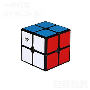 2 By 2 Magic Cube 50mm Speed Pocket Sticker Puzzle Cube