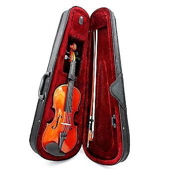 Naturlig Basswood Violin Med Arbor Bow Steel String for begyndere
