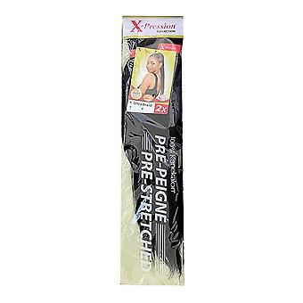 Haarverlängerungen Pre-Peigne X-Pression Nº 1 (1X2)