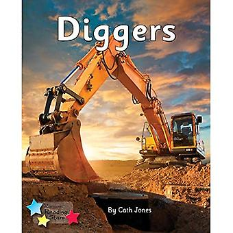Diggers: Phonics Phase 3 (Reading Stars Phonics)
