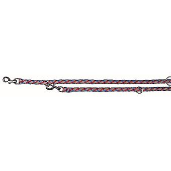 Pet leashes cavo reflect adjustable leash  s-m: 2.00 M/ø 12 mm  blue/red