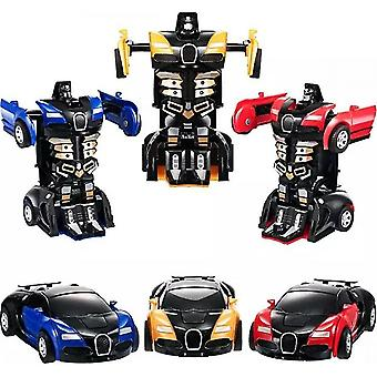 Transformação Mini 2 Em 1 Carro Robô Brinquedo Brinquedo Ação Deformação transformando modelo deformação