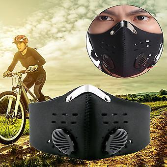 Anti Dust Motorcycle Bicycle Cycling Racing Bike Ski Half Face Mask Filter