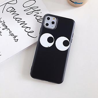 Suitable For Iphone 11 Funny Eyes Soft Shell Mobile Phone Case Simple Trend