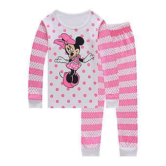 キッズベイビーガールズミッキーミニーマウスパジャマ衣装パジャマセットPjs