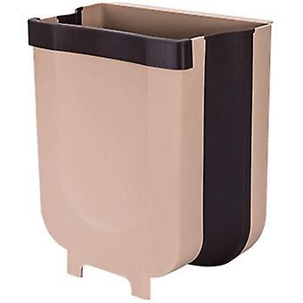 Taitettava kuiva- ja märkäerotteluroska, roskakori, sopii keittiökaapin oviin ja wc-tilojen