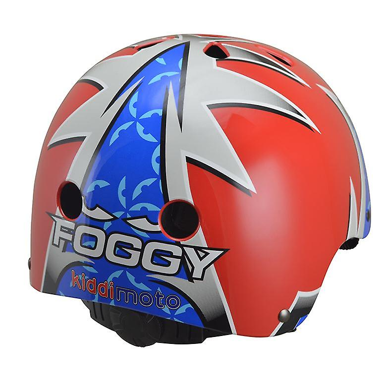 Kiddimoto Helmet Official and Signed Carl Fogarty Foggy