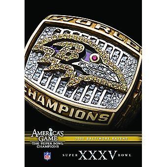 NFL America's Game: 2000 Ravens (Super Bowl Xxxv) [DVD] USA import