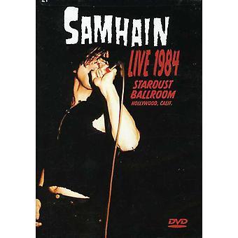 Samhain - Live 1984 Stardust Ballroom [DVD] USA import