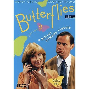 Vlinders: Serie 2 [DVD] USA importeren