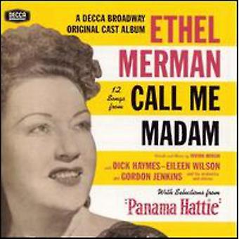 Ethel Merman - 12 importación USA canciones de llamar mi señora [CD]
