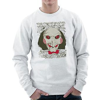 Jigsaw zobaczył Bluza Clown głowę mężczyzn