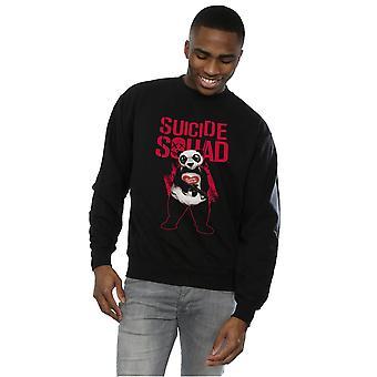 Suicide Squad Men's Joker Panda Sweatshirt