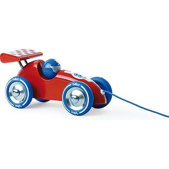 Vilac Red Pull-Along Racing Car