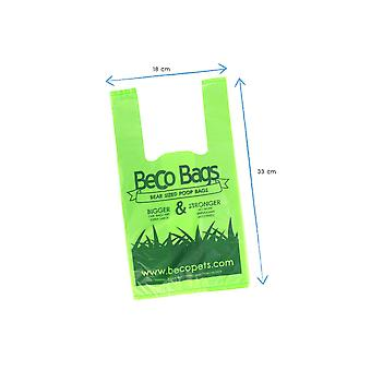 Beco Bags Eco Friendly Dog Poop Bags With Handles