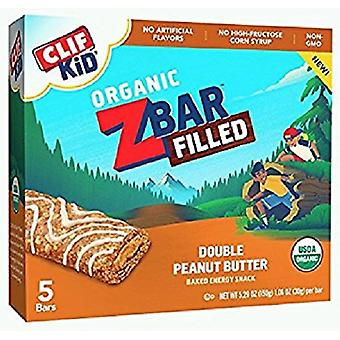 Clif Kid Organic Z Bar Filled Double Peanut Butter
