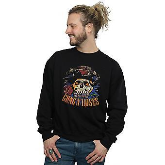 Guns N Roses Men's Vintage Skull Sweatshirt