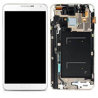 Affichage LCD complet set GH97-15540 B blanc Samsung Galaxy touch 3 neo N7505