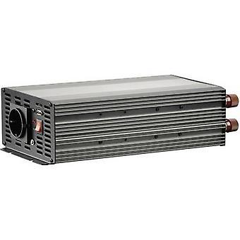 Inverter VOLTCRAFT MSW 2000-24-G 2000 W 24 V DC 21 - 30 V DC Screw terminals PG socket