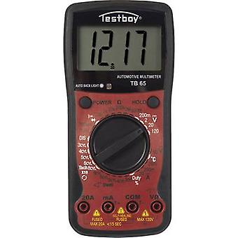 Testboy TB 65 handheld multimeter digitale display (tellingen): 1999