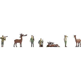 NOCH 15731 H0 figuras caça