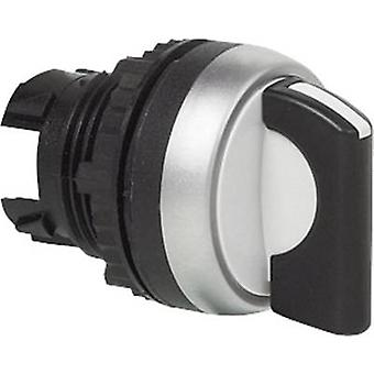 BACO L21MD03 Selector Front ring (PVC), chrome-plated Black 2 x 45 ° 1 pc(s)