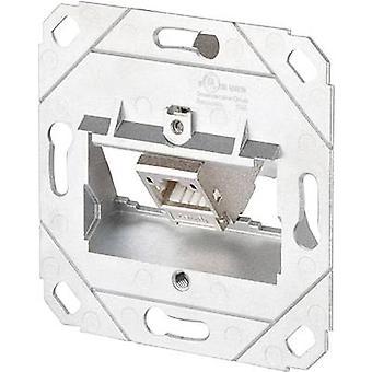 Network outlet Flush mount Insert CAT 6A 1 port Metz Connect