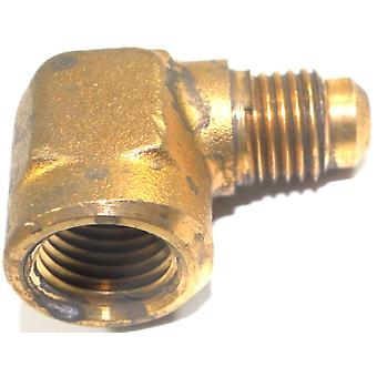 Big A Service Line 3-150440 Brass Pipe, 90 deg Street Flare Elbow 1/4