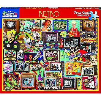 Retro-550 Stück Jigsaw Puzzle-760 X 610 Mm
