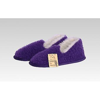 Mokkasiini villaa purple R42/43