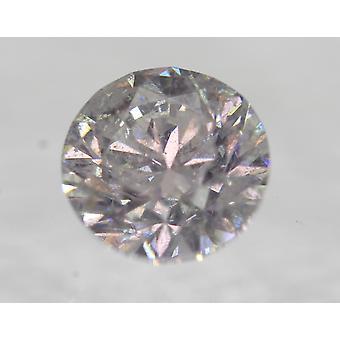 Certifierad 1.51 Carat F färg SI2 runda lysande förbättrad naturlig diamant 7.02mm