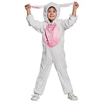 Kanin barn kostym jumpsuit flicka kid djur kostym