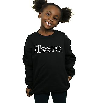 The Doors Girls Simple Logo Sweatshirt