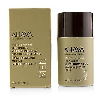 Ahava Time To Energize Age Control Moisturizing Cream Spf 15 - 50ml/1.7oz