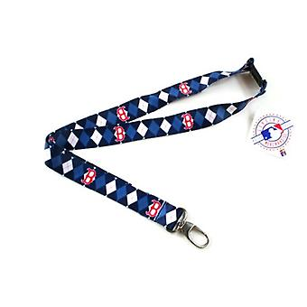 Boston Red Sox MLB Argyle Lanyard