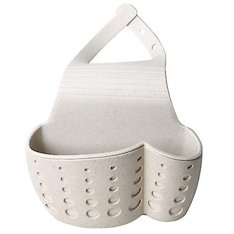 TRIXES umywalka Caddy – miejsca zapisywania kuchnia gąbka posiadacz Tidy - beż