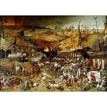 Triomf van de dood, Pieter Bruegel de oude, 60x40cm