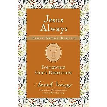 Efter Guds retning af Sarah Young - 9780310091356 bog