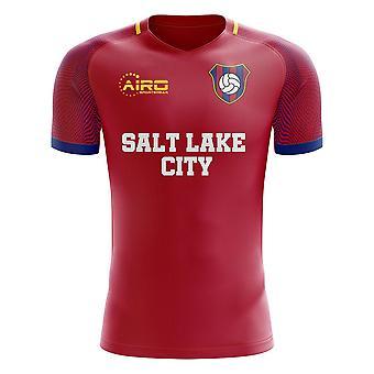 2020-2021 Salt Lake City Strona główna Koncepcja Koszulka piłkarska