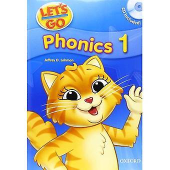 Lassen Sie uns gehen Phonics Bücher: Phonics Buch 1 mit Audio-CD-Paket