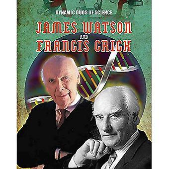 Dynamiska Duos vetenskap: James Watson och Francis Crick