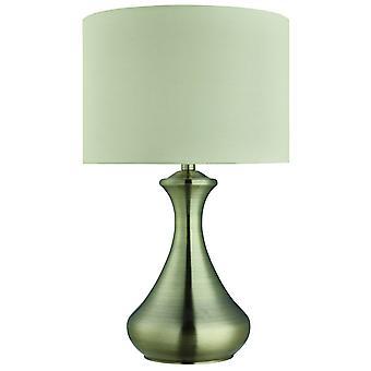 Antique Brass Touch Lampa stołowa śmietany - reflektor 2750AB