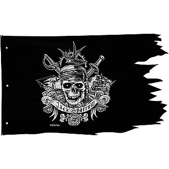 Bandera piratean de piratas del Caribe
