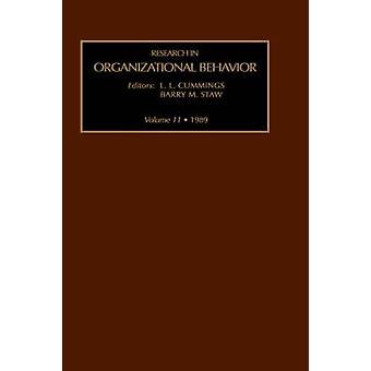 Research in Organizational Behavior by Staw & B.