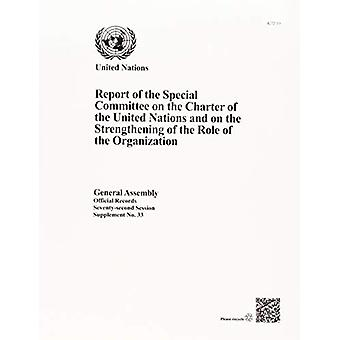 Betänkande från det särskilda utskottet om Förenta nationernas stadga