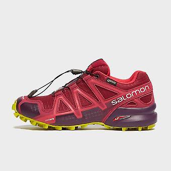 New Salomon Women's Speedcross 4 Trail Running Shoes Red