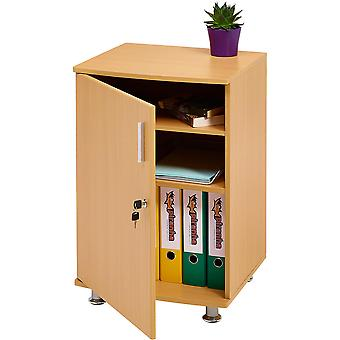 Desktop Extension Cabinet Bowfin Beech
