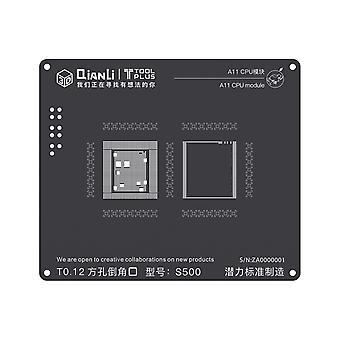 QianLi 3D BGA Stencil Template - A11 CPU Module - iPhone 8 - S500