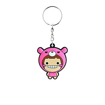 Grindstore Kawaii Bear Rubber Keychain