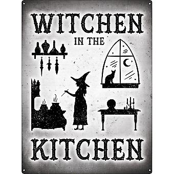 Grindstore Witchen In The Kitchen Tin Sign
